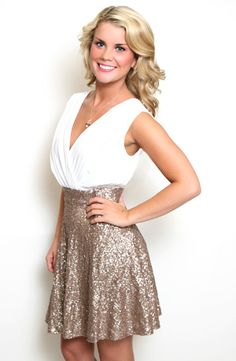 Champagne on Ice Dress Bachelorette party dress!