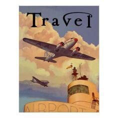 Air Travel Print