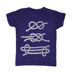 Nautical Knots - Childrens T-Shirt Tee Shirt