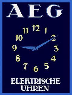 AEG elektrische uhren