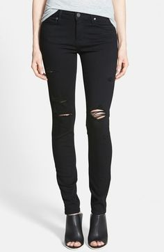 PAIGE 'Transcend - Verdugo' Ultra Skinny Jeans available at #Nordstrom