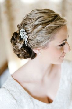 Wedding hair inspiration - Updo