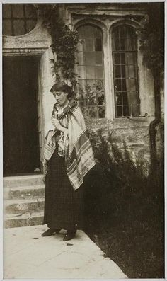 I have a deeply hidden and inarticulate desire for something beyond the daily life. •  Virginia Woolf.  Photo by Vanessa Bell