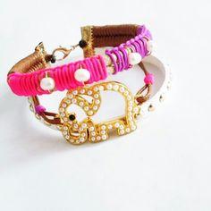 elephant bracelet Elephant Bracelet, Bracelets, Jewelry, Fashion, Bangles, Jewlery, Moda, Jewels, La Mode