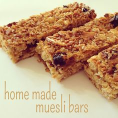 the crowned finch: family noms: home made muesli bard