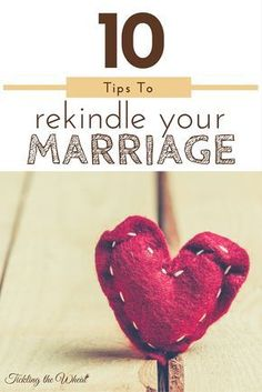 These 10 ways to build your marriage can help renew your relationship at any stage. Whether you've been feeling like your marriage is faltering or you just want to add a little spark to your marriage, try these tips to build connection with your spouse and rekindle your marriage. via /ticklingwheat/