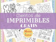IMPRIMIBLES-PREESCOLAR-NIÑOS-MAMAYNENE