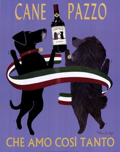 Cane Pazzo by Ken Bailey