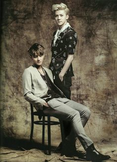 Tao and Sehun as your next door husband and wife from the 70s. #TaoHun