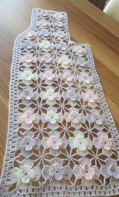 Crochet Motifs, Fleur Crochet, Crochet Flower Patterns, Freeform Crochet, Crochet Doilies, Crochet Flowers, Crochet Stitches, Crochet Coat, Crochet Jacket
