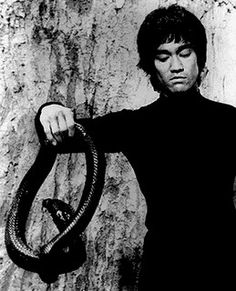 Bruce Lee - scene from Enter The Dragon.