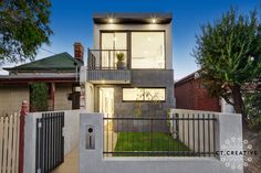 38 Piera Street, Brunswick East, Vic View property details and sold price of 38 Piera Street & other properties in Brunswick East, Vic Real Estate Photography, Building Design, Townhouse, Melbourne, Mansions, Street, House Styles, City, Creative