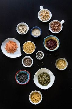 Assortment of Dal, Beans, Pulses and Lentils by Indiaphile.info