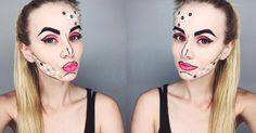 Pop art w Pro Academy School of Makeup - Wrocław