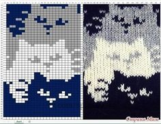 22 ideas crochet cat blanket cross stitch for 2019 Fair Isle Knitting Patterns, Knitting Charts, Knitting Socks, Knitting Stitches, Baby Knitting, Free Knitting, Loom Patterns, Vintage Knitting, Knitting Machine