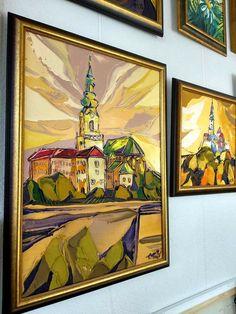 Nitriansky hrad k večeru, 75 x 55 cm, www. Painting, Art, Craft Art, Paintings, Kunst, Gcse Art, Draw, Drawings, Art Education Resources