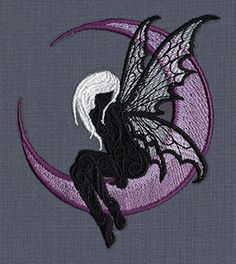 Dark Fae - Thread List | Urban Threads: Unique and Awesome Embroidery Designs