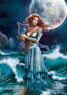 Buy Moonlight puzzle by Cris Ortega at Posters Point. All types of puzzles of different difficulty and number of pieces. Cris Ortega, Musica Celestial, Fantasy Kunst, Gifs, Fantasy Art Women, Fantasy Heroes, Beautiful Gif, Moon Goddess, Animation