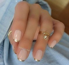 French Manicure | Nail Designs | French Nail |