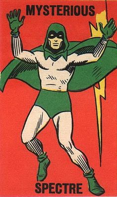 The image from the 1966 DC Foldees for the Spectre Comic Book Artists, Comic Books, Dr Fate, The Spectre, Justice Society Of America, Justice League Dark, Marvel, Classic Comics, Comics Universe
