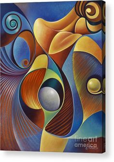 Dynamic Series Acrylic Print by Ricardo Chavez-Mendez. All acrylic prints are professionally printed, packaged, and shipped within 3 - 4 business days and delivered ready-to-hang on your wall. Choose from multiple sizes and mounting options. Oil Pastel Paintings, Flower Paintings, Cubism Art, Art Moderne, Fractal Art, African Art, Amazing Art, Modern Art, Pop Art