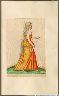 Europäische und orientalische Kostüme