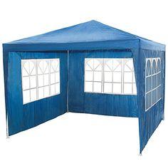 Tente pliante 3×3 m Tonnelle pavillon jardin pliable + Sac de ...