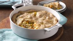 Pillsbury refrigerated pie crusts make a delicious pot pie that's made using chicken and Green Giant veggies - a cozy dinner.