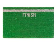finish line doormat! love it.