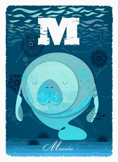 M is for Manatee by Alphabet: G. Carter - Boxbird