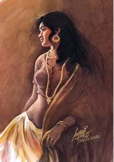 Indian Women Painting, Indian Art Paintings, Beautiful Nature Wallpaper, Beautiful Paintings, Female Poses, Female Art, Painting Of Girl, Painting Art, Rajasthani Art