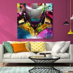 Tableau déco Iron Man pop-art