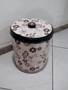 Reciclando Canning, Decorated Jars, Drum, Decorated Bottles, Home Decor Ideas, Boxes, Decorating Ideas, Creativity, Craft