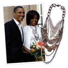 michelle obama necklace - Google Search