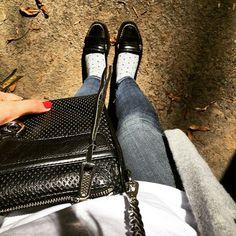 Black Friday#blackfriday2015 #blackfriday #sperrys #cashmere #cardigan #hm #jbrand #jeans #rebeccaminkoff #minimac #ootd #outfitoftheday #whatiwear #fromwhereistand #jcrew #whitetshirt #bananarepublic #socks #itsbanana #polkadots #polishgirl #sperrytopsider #instafashion #whatiweartoday