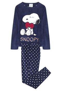 Snoopy long pyjama @womensecret by @womensecret