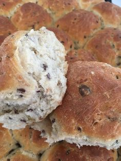 Creme Fraiche, Danish, Food Photography, Muffin, Yummy Food, Bread, Baking, Breakfast, Desserts