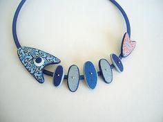 bleu corail collier poisson