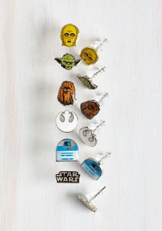 Endorse the Force Earrings Set
