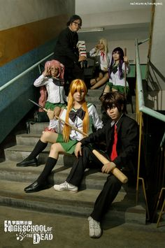 High School of the Dead by maki-chama.deviantart.com on @deviantART
