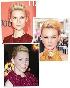 Pump up the volume like Claire Danes,Carey Mulligan, and Elizabeth Banks. The extra height at the crown gives a retro feel to sleek updos, and is a fun way to change up a pixie cut.