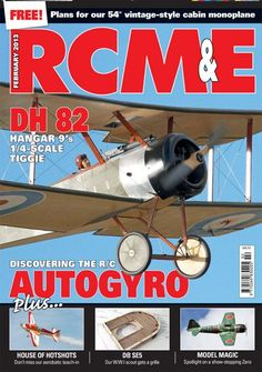 It's another bumper 132-page issue with loads of good reading and a FREE plan that should be very popular - a vintage style, easy-build sportster called Jemima!    ON THE COVER Tony Hill's Zenoah 38 powered Balsa USA Pup takes to the air at Ashbourne's end of season scale day.   REGULARS SWITCH ON A pot pourri of news and happenings, including details of the new UKCAA  COUNTERPOINT Seasonally disordered? We'd prescribe a bit of retail therapy