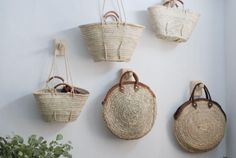 Matières Nomades products - we love natural baskets! Handmade in Morocco