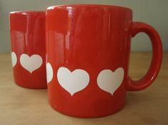 Heart Mugs $14