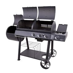Char-Broil Oklahoma Joe's Charcoal/Gas/Smoker Combo