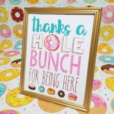 Donut Word Art Bundle/ Party Printable/ First Birthday Celebration/ Doughnut Event Decoration/ Donut Grow Up/ Donut Worry Be Happy/ Sprinkle - Donut Decor 2nd Birthday Party For Girl, Donut Birthday Parties, First Birthday Themes, Birthday Party Decorations, First Birthdays, Birthday Celebration, Donut Party, Art Birthday, Donut Decorations