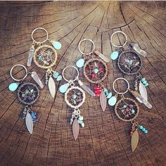 Hey, I found this really awesome Etsy listing at https://www.etsy.com/listing/185594075/ooak-custom-dreamcatcher-keychain-made