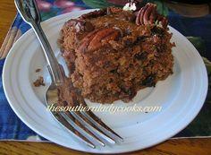 Chocolate Oatmeal Cake - TSLC