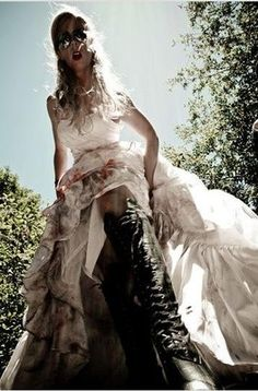 ZOMBIE Trash the Dress Pro Pics are In!! (**TONS OF PICS**)   Weddings, Fun Stuff   Wedding Forums   WeddingWire