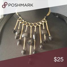 🆕Gold Tone Statement Necklace Cute dangle statement necklace. Great with any outfit. Jewelry Necklaces
